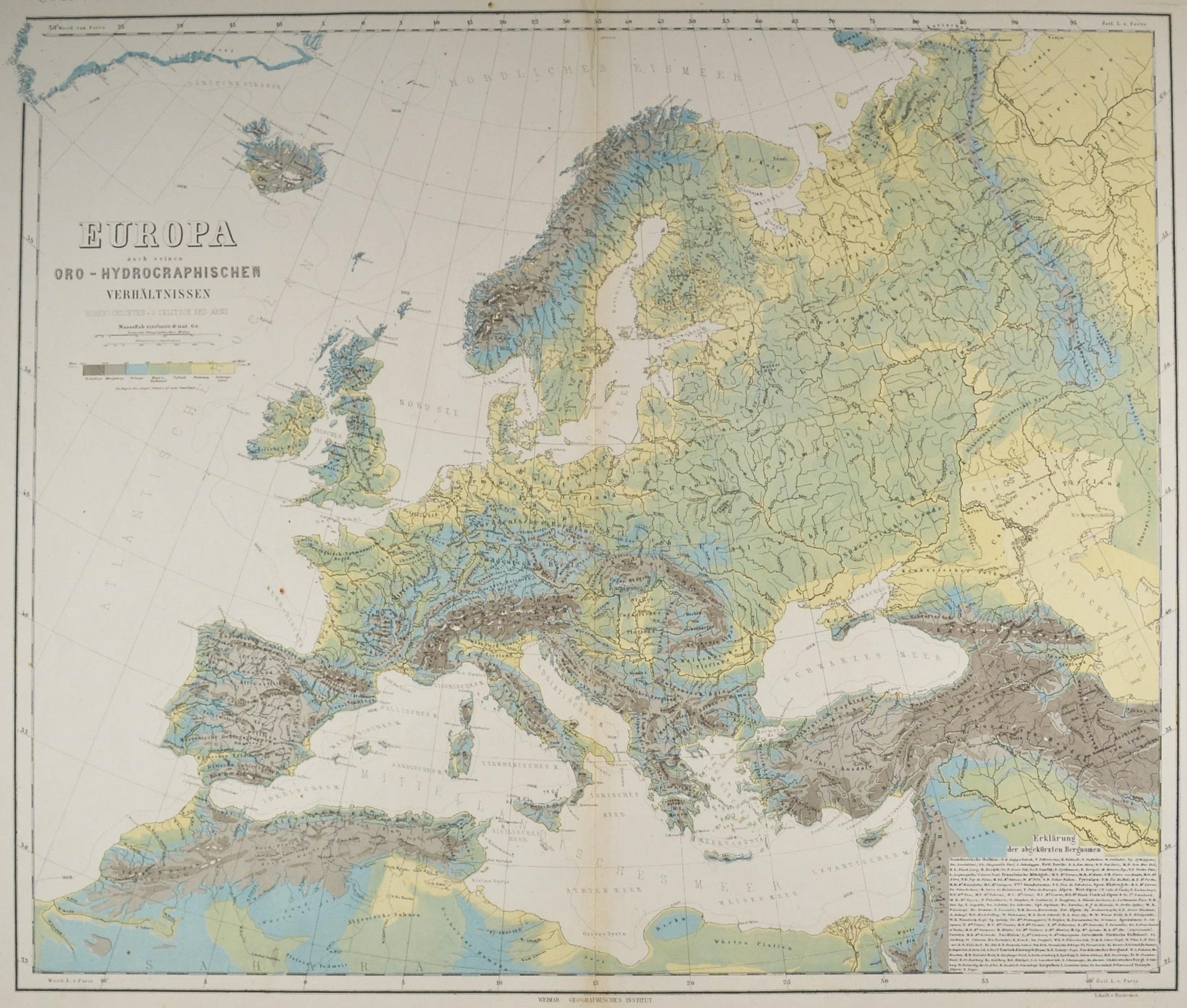 Europa Karte Europa Politische Ubersicht Bis Zum Ural