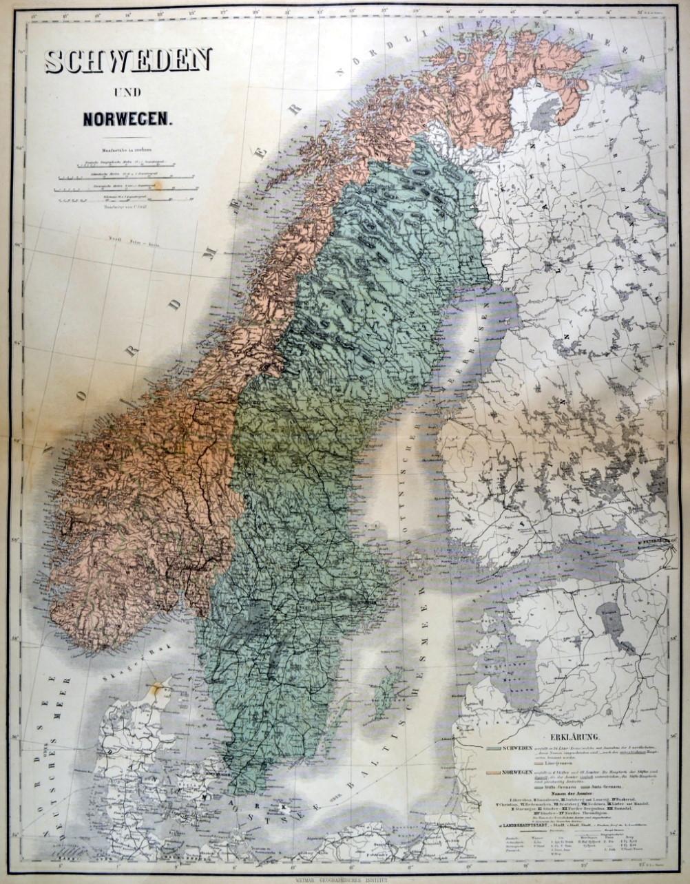 1 Färöer Bl 1 ** Norden Nordische Länder