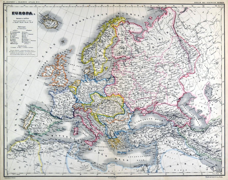 Uralgebirge Karte.Europa Karte