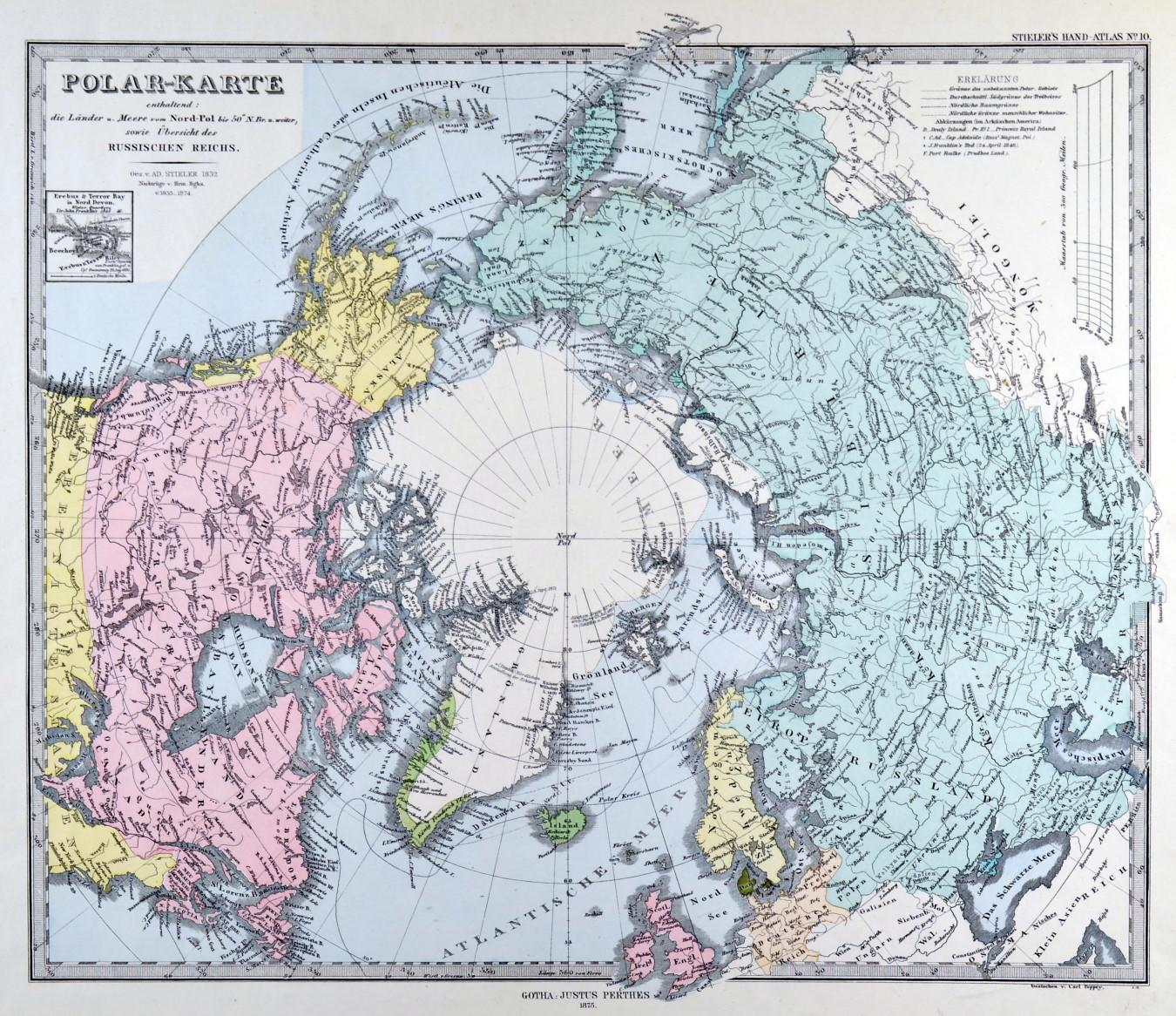 Nordpolarmeer Karte.Nordpol Karte Onlinebieb