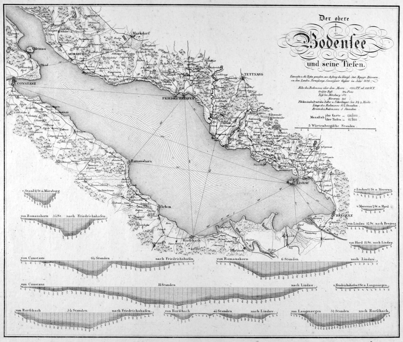 Bodensee Karte.Bodensee Karte
