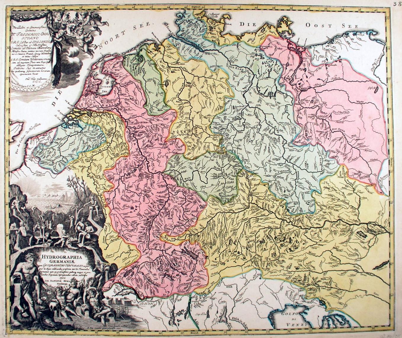 Vialibri Deutschland Gebirge Und Gewasser Karte