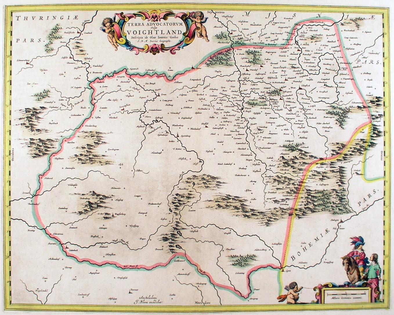 karte vogtland VOGTLAND.   Karte.