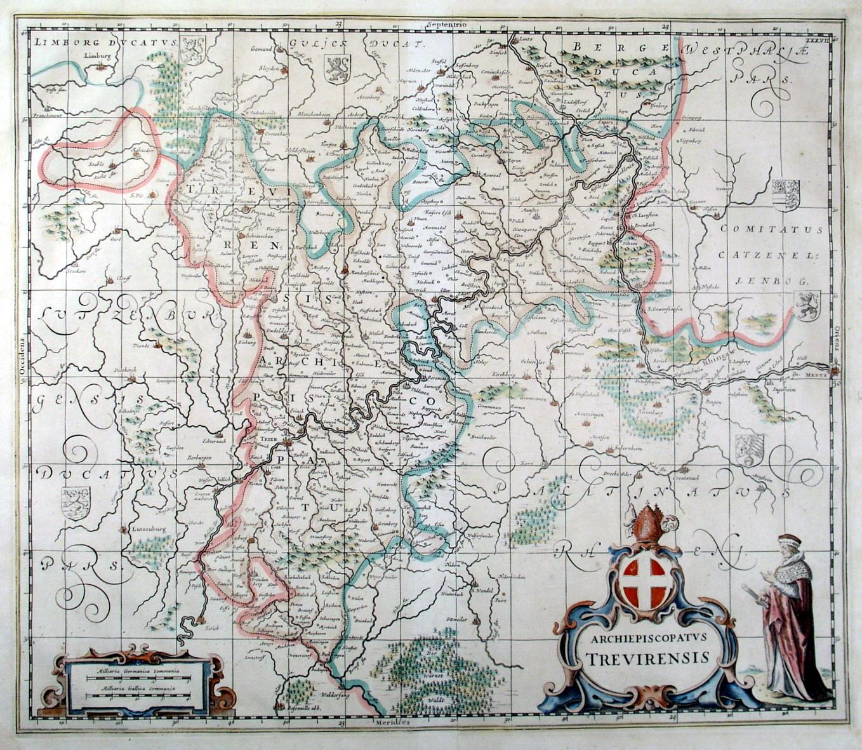 Bistum Trier Karte.Trier Karte Trier Sammlerstücke Zvab