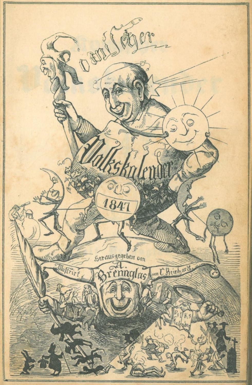 KALENDER. - Brennglas, Adolf (Hrsg.; d.i. Adolf