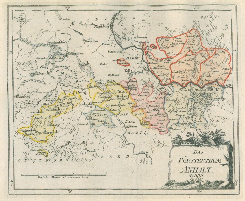 Karte Sachsen Anhalt.Sachsen Anhalt Karte