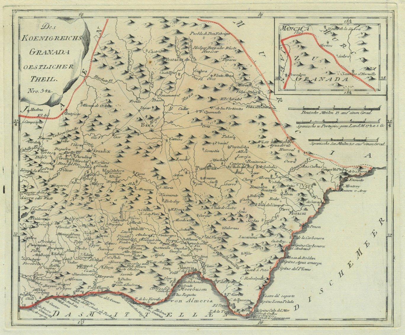Granada Karte.Granada Karte Des Zvab