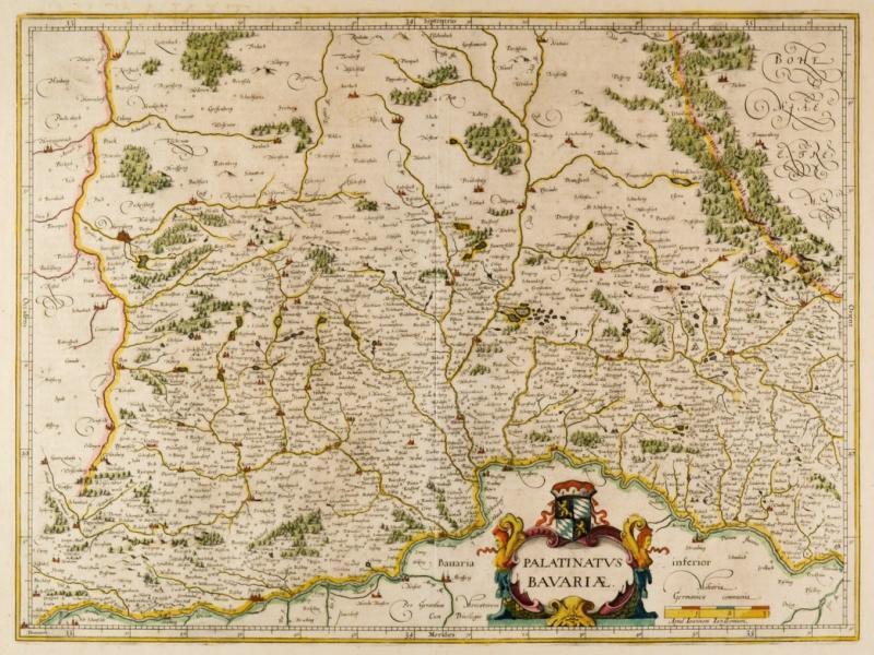 Vialibri Niederbayern Karte Palatinatus Bavariae