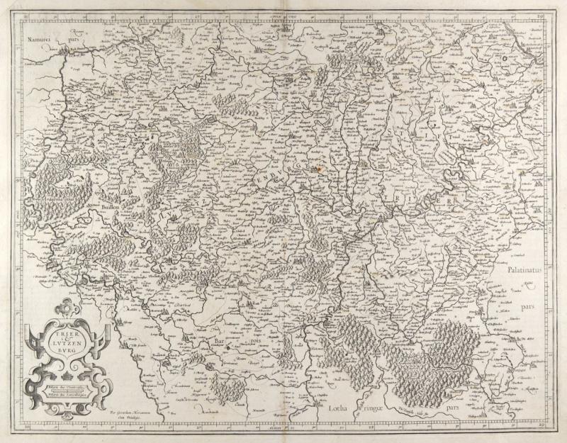 Vialibri Trier Luxemburg Karte Trier Et Lutzenburg
