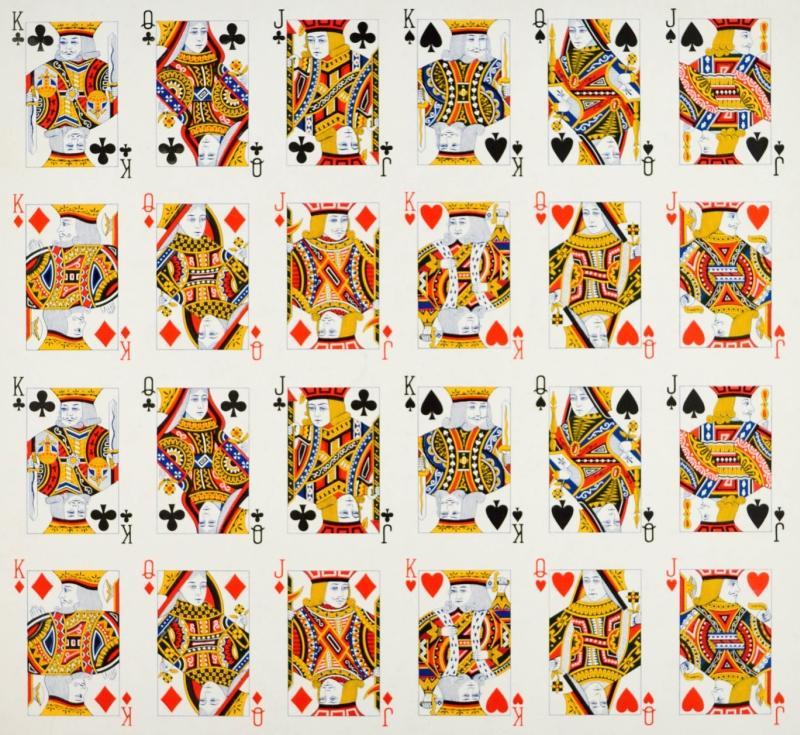 Spielkarten Buben