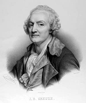 GREUZE, Jean-Baptiste (1725 - 1805). Brustbild nach