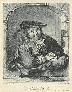 """ADAM VON BARTSCH (1756 - 1821). """"Ferdinand"""