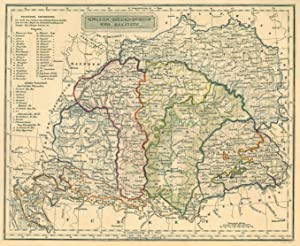 Galizien Karte.Ungarn Karte