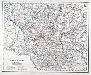 Berlin Mitte Karte.Brandenburg Karte