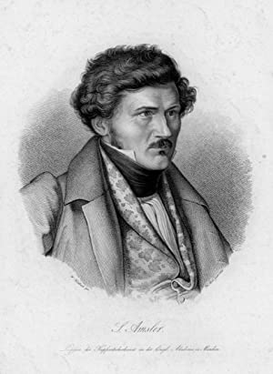 AMSLER, Samuel (1791 - 1849). Brustbild nach