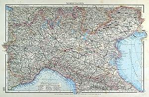 Italien Karte Italie Zvab