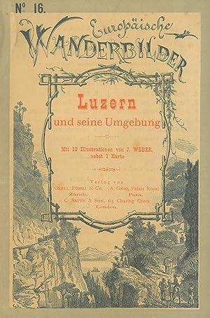 LUZERN. - Luzern und seine Umgebung.