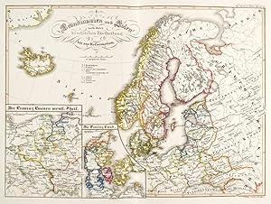 ATLANTEN. - Spruner, Karl von. Historisch-Geographischer Hand-Atlas