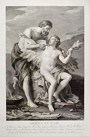 """JOSEPH MARIE VIEN (1716 - 1809). """"Dédale"""