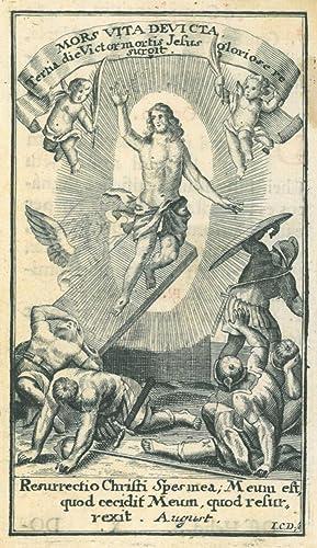 "JESUS. - Auferstehung. ""Resurrectio Christi"". Vor dem"