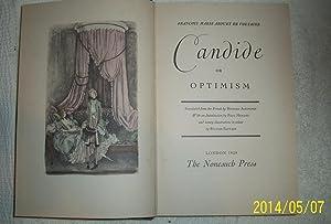 Candide or Optimism: Francois Marie Arouet De Voltaire