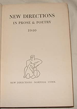 New Directions 1940: James Laughlin, editor
