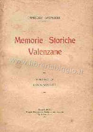 Memorie storiche valenzane.: Gasparolo F.