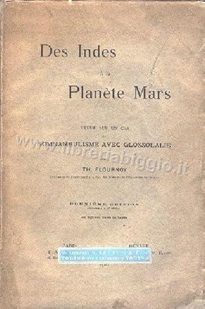 Des Indes à la Planete Mars: Flournoy Theodore