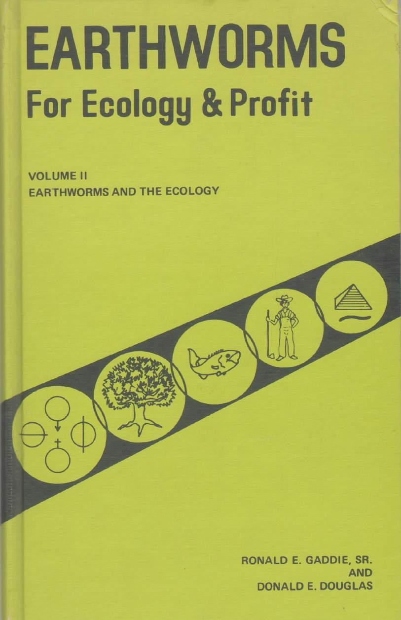ecology earthworms Biology and ecology of earthworms / edition 3 this is the third edition of the book which reviews all aspects of earthworm biology and ecology the text has been extensively updated to include recent data and advances.