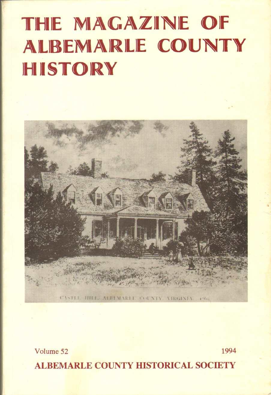 Photograph of an Issue of the Magazine of Albemarle County