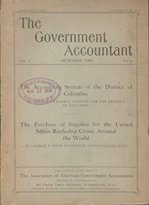 THE GOVERNMENT ACCOUNTANT The Accounting System of the District Oif Columbia / The Purchase of...