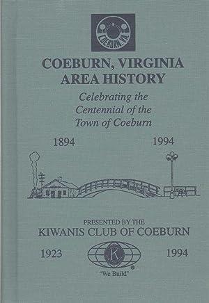COEBURN, VIRGINIA AREA HISTORY Celebrating the Centennial of the Town of Coeburn: Coeburn Kiwanis ...