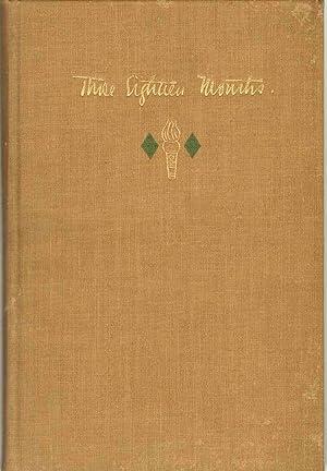 THOSE EIGHTEEN MONTHS October 9, 1917 - April 8, 1919: Westbrook, Stillman F.