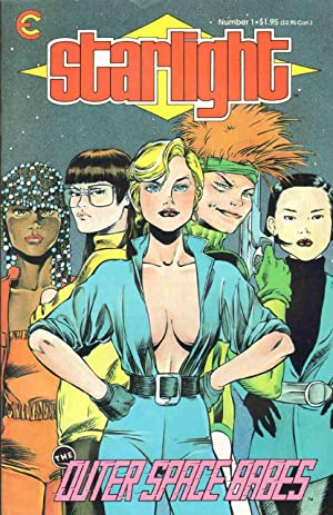 STARLIGHT THE OUTER SPACE BABES #1 October 1987