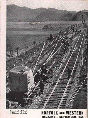 NORFOLK AND WESTERN MAGAZINE October 1942