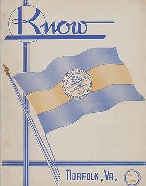 KNOW Volume VIII No. 1: Turin, Francis E. ; editor