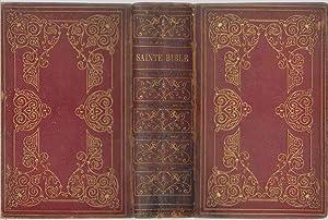 LA SAINTE BIBLE Qui Contient Le Vieux Et Le Nouveau Testament; Revue Sur Les Originaux.: Martin, ...