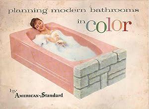 PLANNING MODERN BATHROOMS IN COLOR: American-Standard