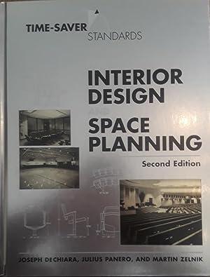 Time-Saver Standards for Interior Design and Space: DeChiara, Joseph; Panero,