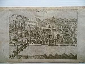 Heidelberg. Stadtansicht.