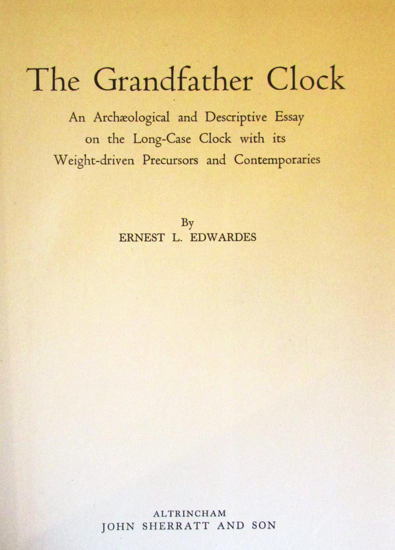 The Grandfather Clock: Ernest L. Edwardes