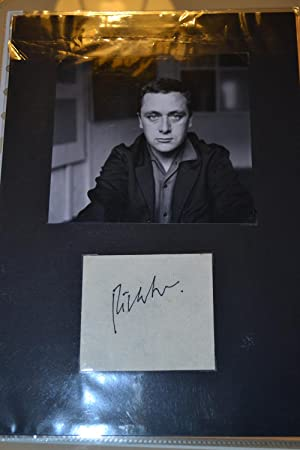 original photograph [with] autograph signature (two separate items, offered together).: Richter, ...