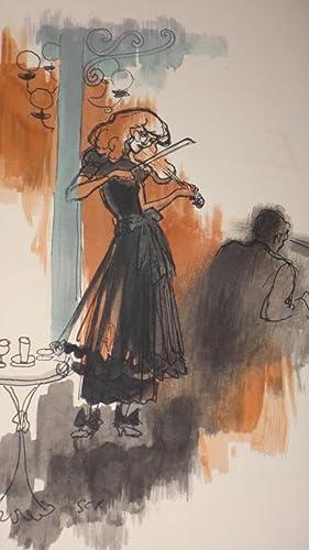 Première représentation de Monelle Valentin dans La sauvage, pièce en trois ...