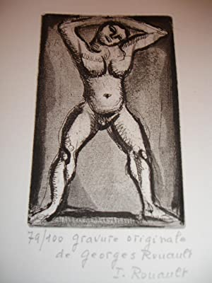 Rouault: Oeuvre Grave (catalogue raisonne of the prints of Georges Rouault): Chapon, Francois and ...
