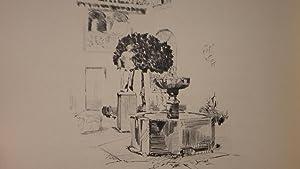 Un soir, à Cordoue. Pointes sèches de José Pedro Gil.: Grappe, Georges (José ...