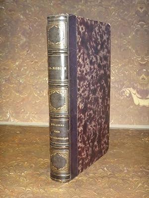 Catalogue d'une partie de livres rares, singuliers: Nodier, Charles