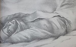 Lettres de la religieuse portugaise. Lithographies de Mariette Lydis.: Alcoforado, Mariana (i.e., ...
