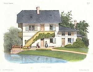 Habitations champêtres. Recueil de Maisons, Villas, Chalets,: Petit, Victor