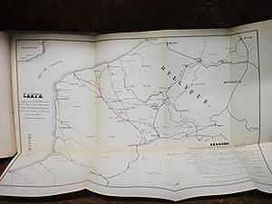 Département du Pas-de-Calais. Mairie d'Arras. Chemins de fer. Chemin qui doit relier la...