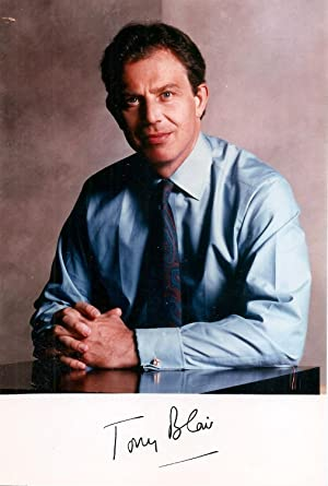 Signed photograph of Tony Blair